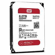 WD Red Pro 8TB NAS Desktop Hard Drive Intellipower 6 GBs 128 MB Cache WD800