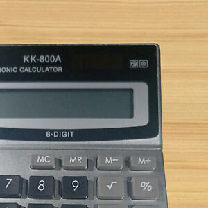 DESKTOP 8 DIGIT ELECTRONIC CALCULATOR OFFICE FINANCIAL ACCOUNTING STATIONERY