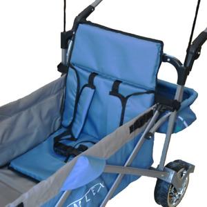 IMLEX Bollerwagen Zubehör Sitzpolster in verschiedenen Farben Bollerwagensitz