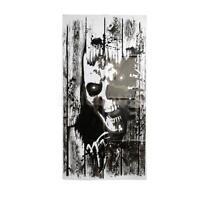 Halloween Skeleton Window Peeper Clings Door Cover Party Decor Prop