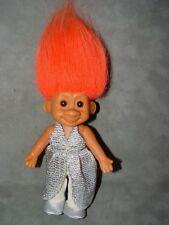 """Troll Doll 7"""" Russ Travis Tracey Fashion troll orange hair"""