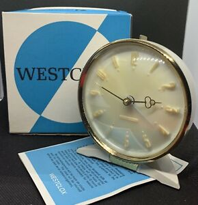 Vintage Westclox Alarm Clock,Mechanical, Made In Scotland, New Old Stock