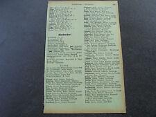 1940 Einwohnerverzeichnis Günthersdorf