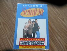 NEW UNOPENED  Seinfeld - Season 3 (DVD, 2004, 4-Disc Set) - Remastered