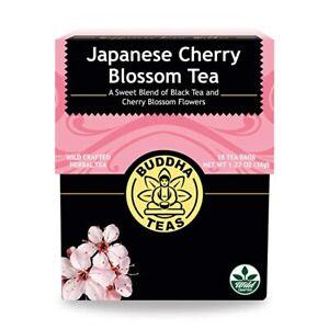 Japanese Cherry Blossom Tea - Kosher, Contains Caffeine, GMO-Free 18 Bleach-Free