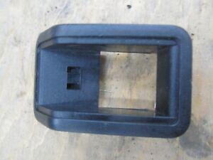 Range Rover Classic hard dash Interior Door Lock Button Escutcheon black