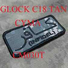 CYMA GLOCK C18 18C TAN CM030T SOFTAIR OUTDOR AIRSOFT