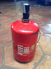 Vintage Racing Race Car Fire Eater Fire Canister Extinguisher
