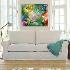 Modern Art,contemporaryWALL Decor, Abstract Acrylic Painting onCanvasCELEBRATION