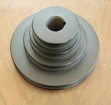 "NOS Delta 4-step Cast Iron 5-3/8"" Pulley 7/16"" belt"