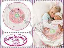 ZAPF BABY ANNABELL DOLL ROUND FLEECE FUN SNUGGLE BLANKET PLAYMAT BRAND NEW £15