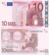 Greece  Greek 10 euro note (s) Duinsenberg  UNC   F001