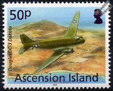 USAF DOUGLAS DAKOTA DC-3 Aircraft Stamp (2013 Ascension Island)