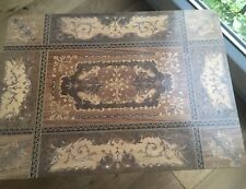 Vintage Italian Inlaid Table / Jewellry / Sewing Musical Box