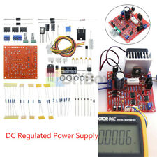 2pcs Continuous Adjustable Dc Regulated Power Supply Diy Kit Pcb 0 30v 2ma 3a