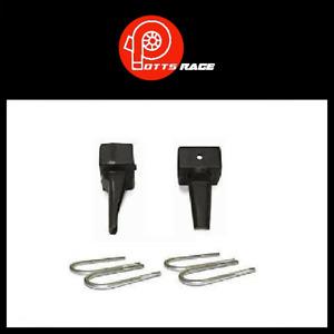 """Pro Comp Suspension 3.5"""" Rear Lift Block Kit w/ U-Bolt Fits 79-99 Toyota - 57589"""