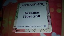 Alex and Annie card for charm bracelet because I love you (no bracelet tag only)