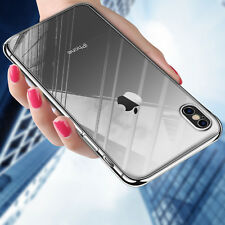 Transparent Crystal Clear Case Hard Plastic Cover Case Skin For Apple iPhone X