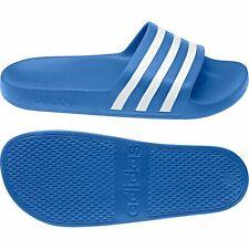 Adidas Unisex Adilette Aqua Beach Shoes Slippers True Blue F35541 Blue