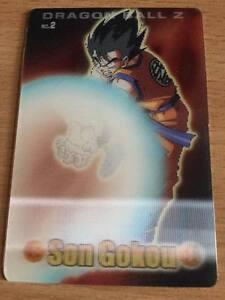 Card Dragon Ball Z DBZ Gumica Part 1 #2 3D BANDAI 2003 MADE IN JAPAN