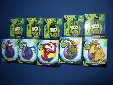 BEN 10 Alien Force Rock~Chromastone~Spidermonkey~Jetray~Swampfire~Humungousaur