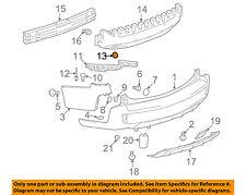 SUZUKI OEM 07-09 XL-7 Rear Bumper-Side Bracket Retainer 7181278J00