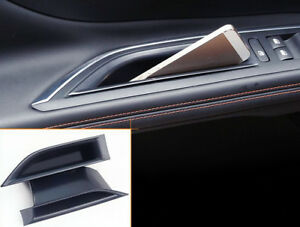 For Peugeot 3008 5008 GT 2017 2018 2019 Front Door Storage Box Holder Organizer
