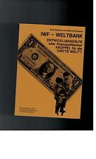 Paul Sandner - IWF - Weltbank - 1987
