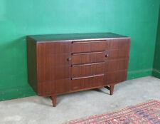 Dark Wood Vintage Sideboard, Cupboard, Kitchen, Lounge, TV Stand, Hallway, Retro