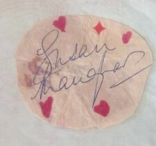 SUSAN MAUGHAN GENUINE AUTHENTIC SIGNED PAPER/AUTOGRAPH