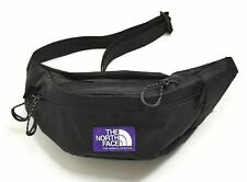 THE NORTH FACE NN7950N Waist Bag PURPLE LABEL X-Pac Black Fanny Pack Pre-owned