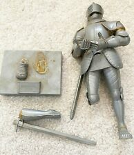 1956 Aurora Silver Knight of Augsburg 1560 Model Needs Repair Sold 4 Parts FLAW