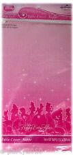 DISNEY PRINCESS Sparkle & Shine PLASTIC TABLECOVER ~ Birthday Party Supplies