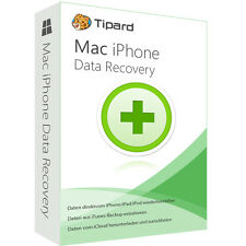Mac iPhone data recovery tipard dt. version complète-vie licence ESD téléchargement