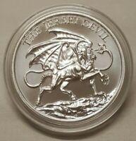 1oz Jersey Devil Silver Round Coin Southern New Jersey Folklore Leeds Devil