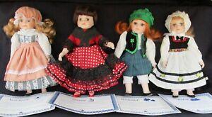 Royalton Collection Doll Lot Norway Ireland Spain Finland Kirsi Lot Porcelain