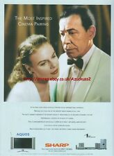 "Sharp Aquos ""Most Inspired Cinema Pairing"" 2003 Magazine Advert #59"