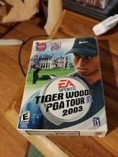 PC Sports-Small Box Version-EA Sports Tiger Woods PGA Tour 2003-Complete-3