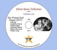 "DVD ""The Woman God Forgot"" (1917) Cecil DeMille, Geraldine Farrar, Classic Drama"