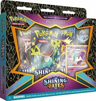 NEW Pokémon TCG: POLTEAGEIST SEALED Shining Fates Mad Party Pin Collection