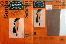 1 x NYLONS - KUNERT - SONJA - PERLMUTT - 30 DEN - 60/70er - GR. 9 1/2 - 10