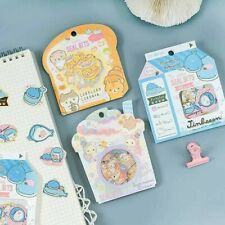 New San-X 2019 Japan Sanrio Kawaii Sticker Flakes pack Ships from USA