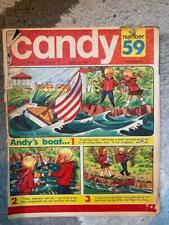 CANDY 59 GERRY ANDERSON COMIC Candy & Andy