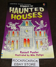 STORIES OF HAUNTED HOUSES -48 PAGE READING BOOK (BRAND NEW)