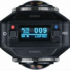 Uniden DC720 Hd Dual Lente 720 graus gravador de direção Vídeo Câmera Dash Cam