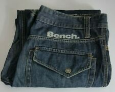 Bench Mens Jeans W34 L31 Blue Relaxed Fit 34x31 Size Waist 34in Leg 31in