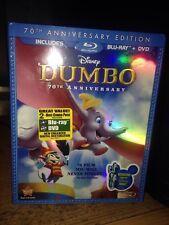 Dumbo (Blu-ray/DVD, 2011, 2-Disc Set, 70th Anniversary Edition)