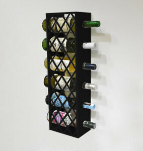 6 - 12 Bottles Narrow Wine Rack Holder Unit Shelf Cabinet Storage Kitchen Bar