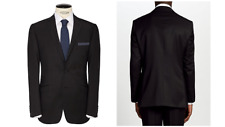 Daniel Hechter Pindot Tailored Suit Jacket, Charcoal UK Size 38R RRP £180 - BNWT