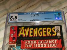 Avengers #27 CGC 8.5 ~ Marvel ~~1966 ~~Attuma and Beetle ~Don Heck Art
